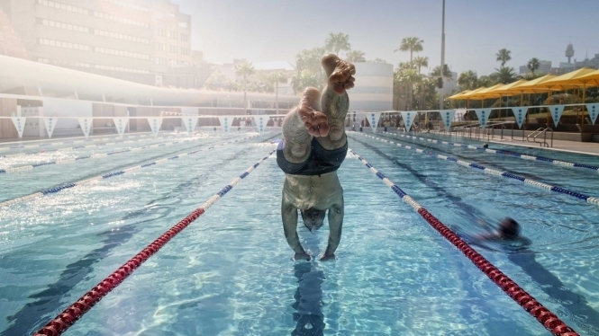 Nutrición para deportes en el agua