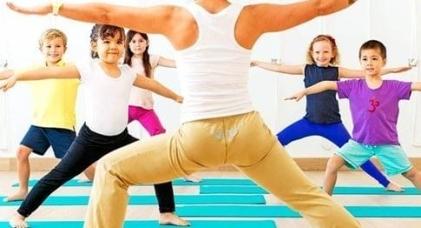 Curso Online de yoga para niños