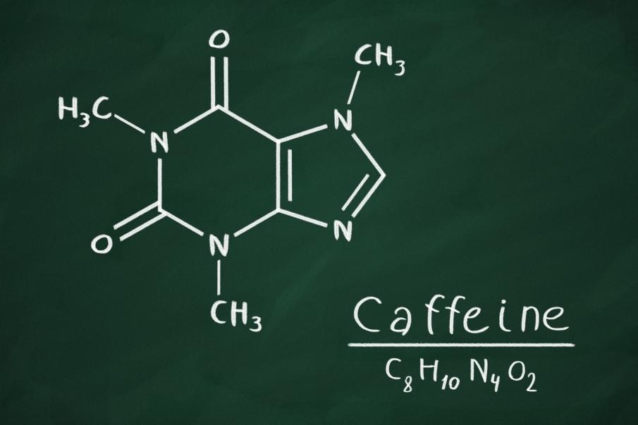 Formula de la Cafeína