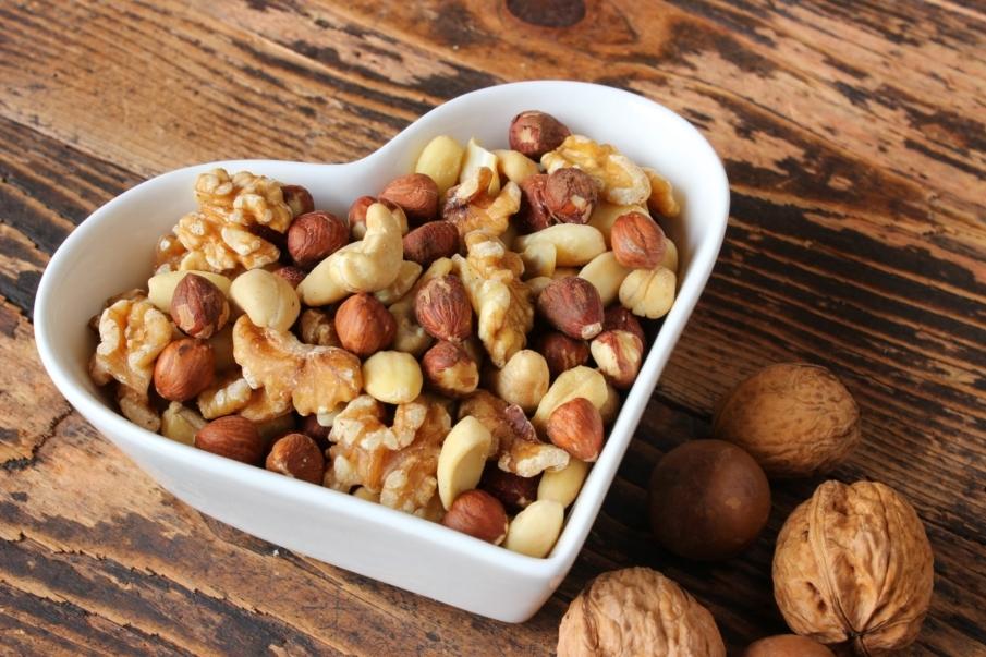 Beneficios de los frutos secos para deportistas