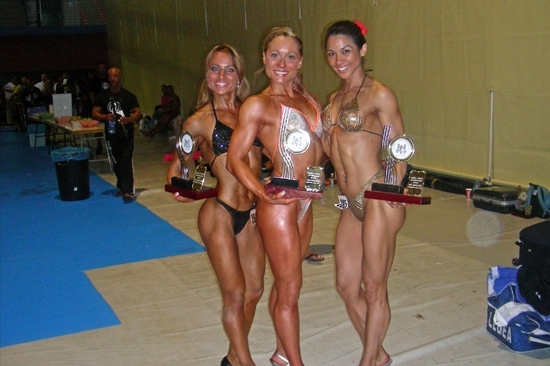 Campeonas del mundo Fitness 2006 Benidorm