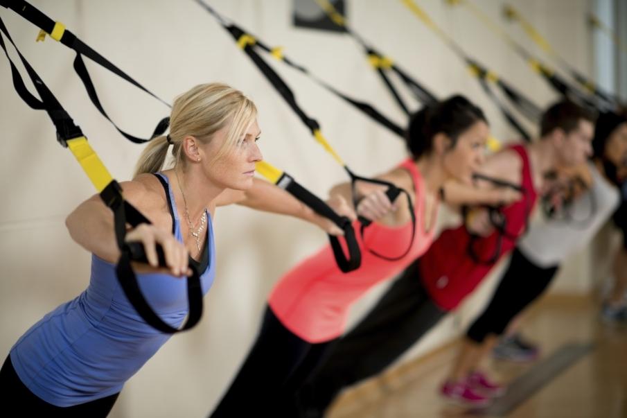 Características del entrenamiento en suspensión