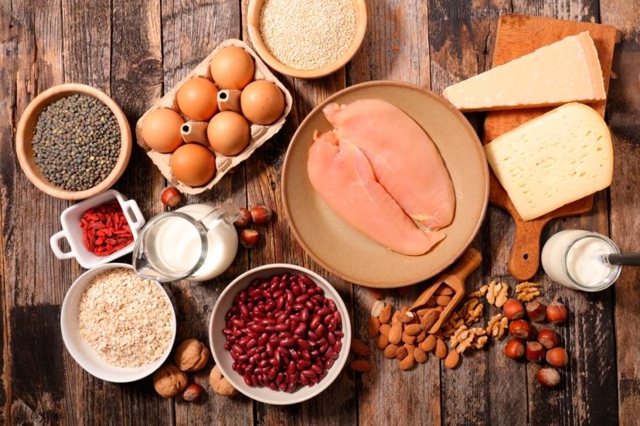 ¿Cuánta proteína tomar para aumentar a masa muscular?