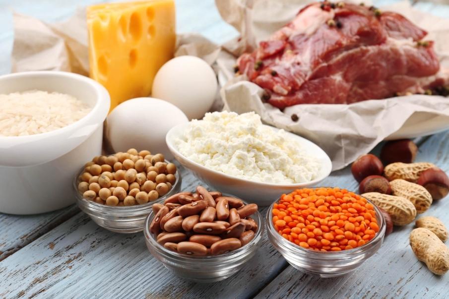 ¿Dónde se encuentran las proteínas?