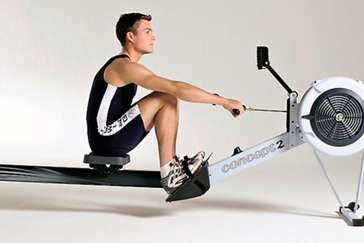 ejercicio cardiovascular - el remo