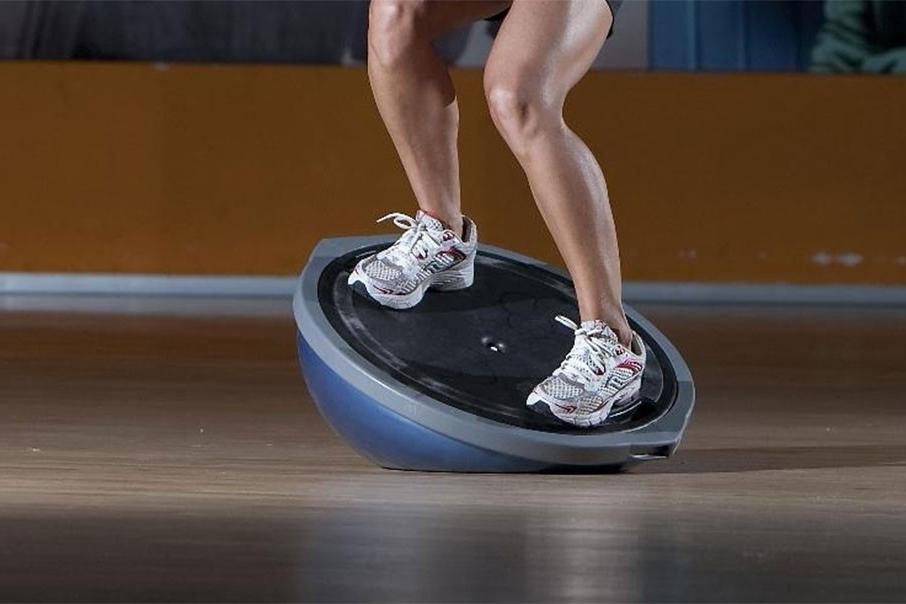 Ejercicios para fortalecer las rodillas - Provocar desequilibrios