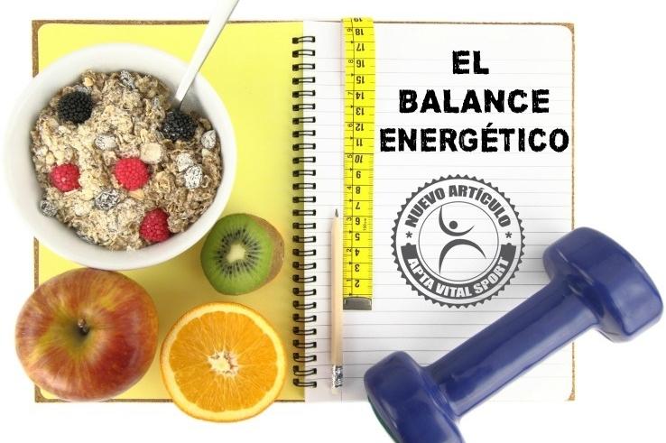 El balance energetico