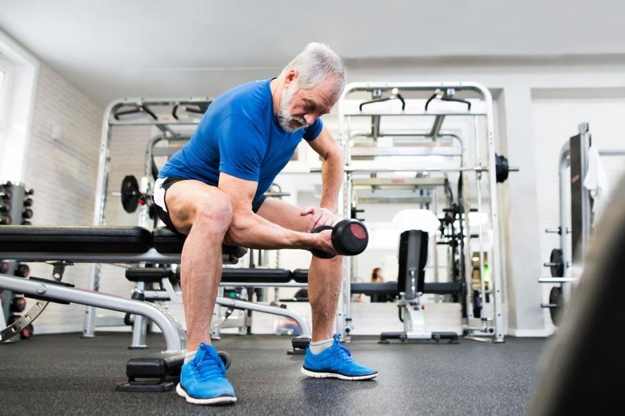 Beneficios del entrenamiento de fuerza sobre la sarcopenia