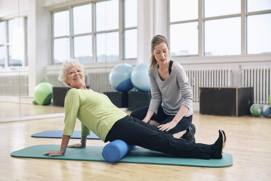 El método Pilates sirve para aliviar dolores y problemas de espalda
