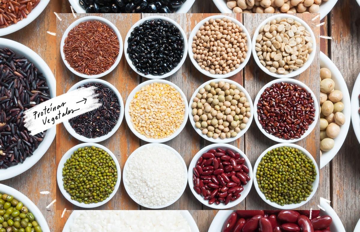 Formas de combinar las proteínas vegetales