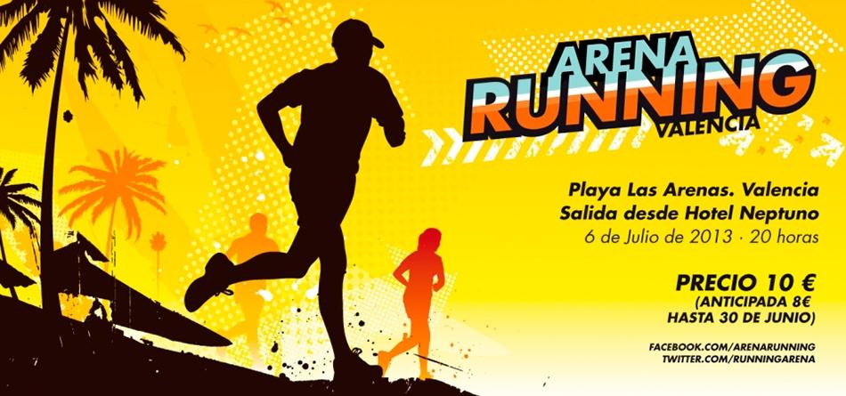 Éxito del I Arena Running de Valencia
