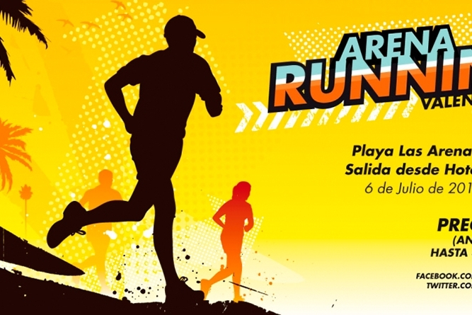 i-arena-running-valencia-en-la-playa