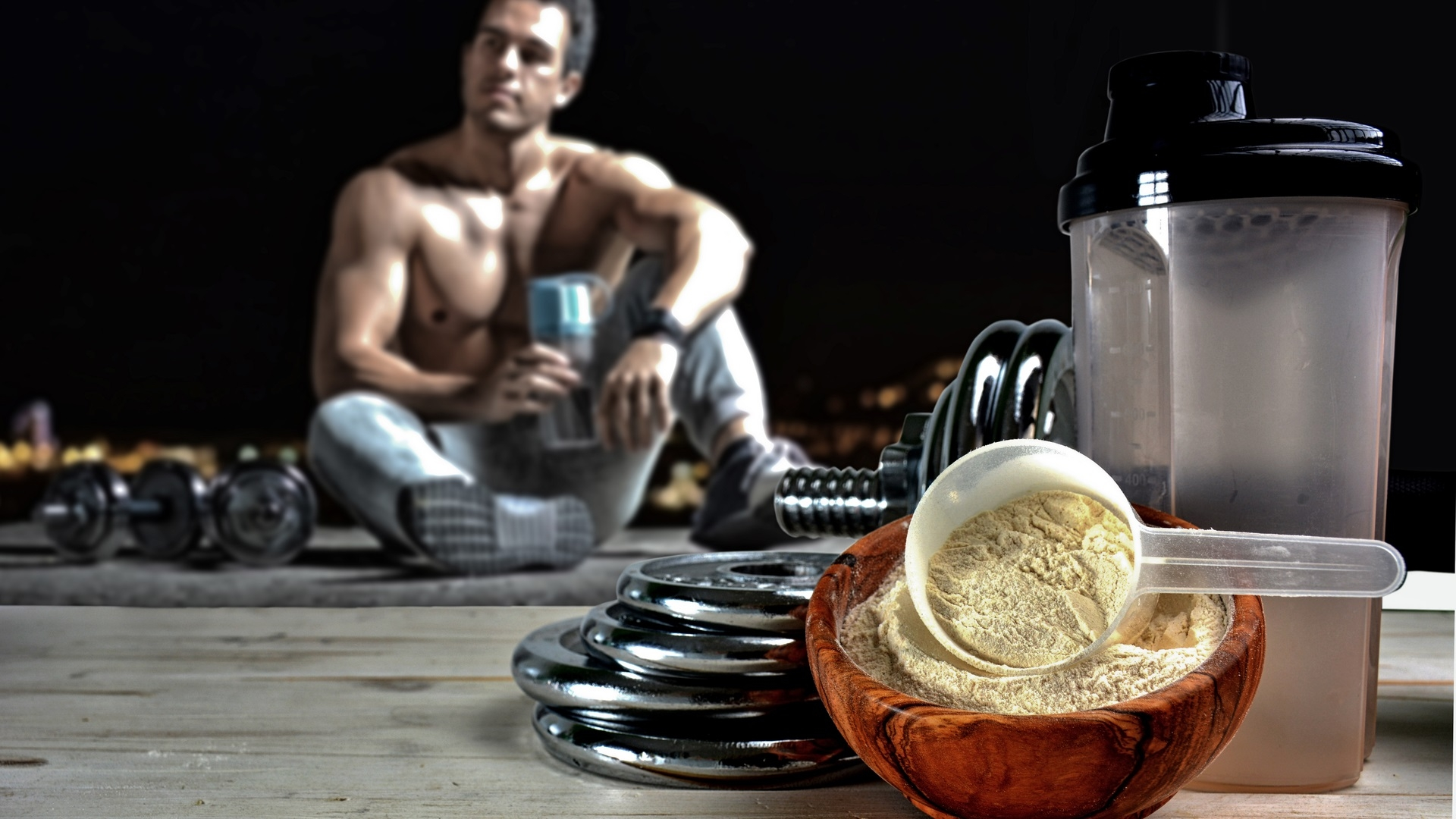 Proteínas para ganar masa muscular. Algunos consejos