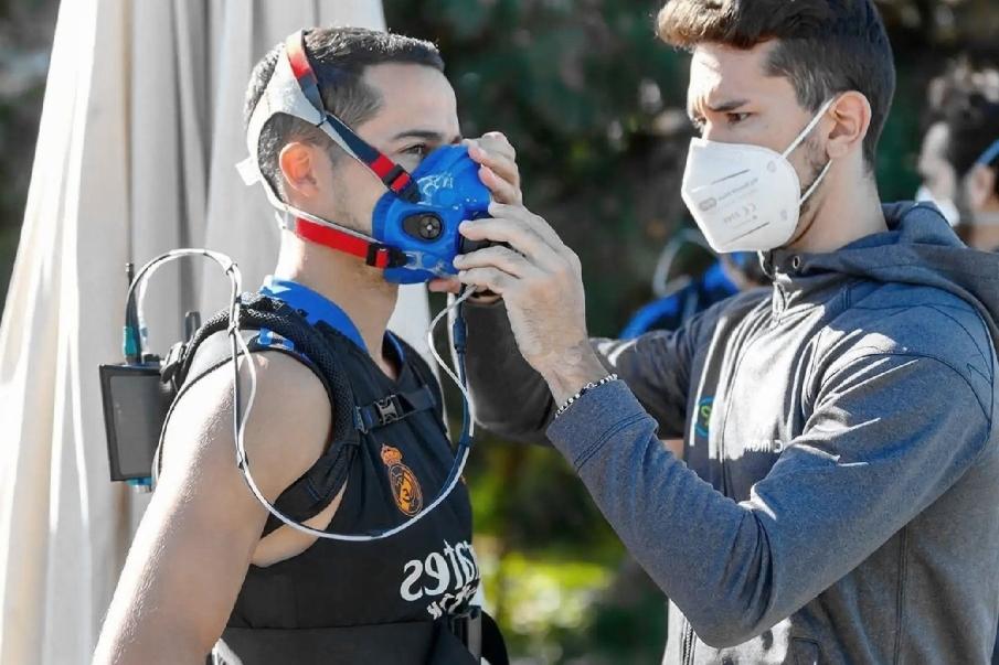 Máscaras para entrenamiento en hipoxia
