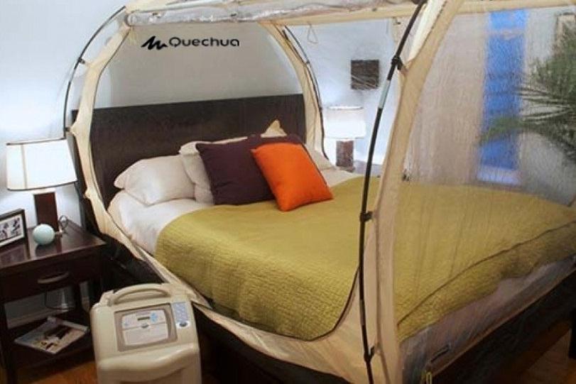 Tiendas para dormir en hipoxia
