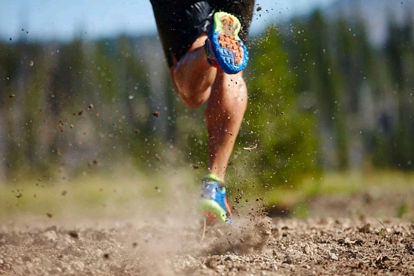 Running sobre caminos de tierra