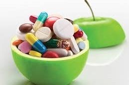 Suplementos en la pirámide nutricional
