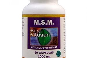 Suplemento articulaciones - Metilsulfonilmetano o MSM