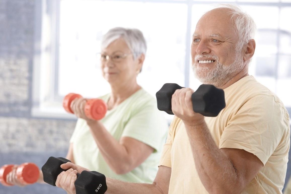Qué tipo de actividades son recomendables en este caso - Ejercicios con pesas