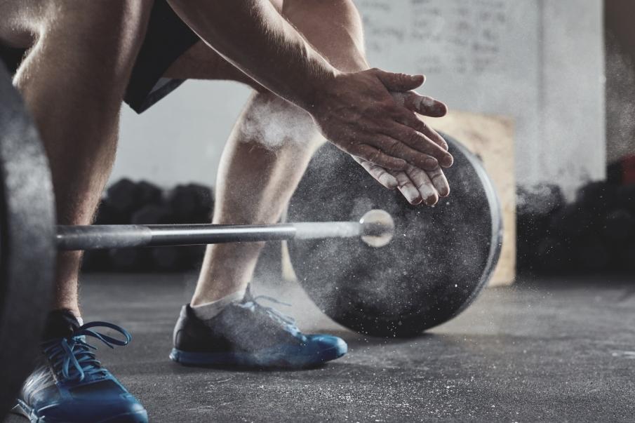 Mejorar el agarre en pesas