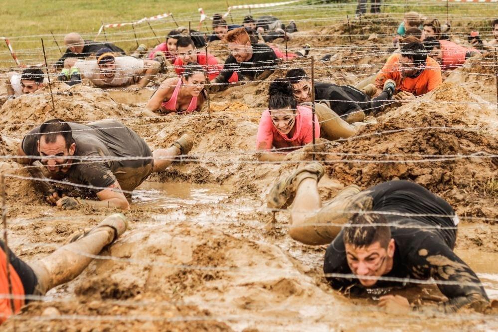 Tipos de obstáculos en las carreras OCR - Alambre