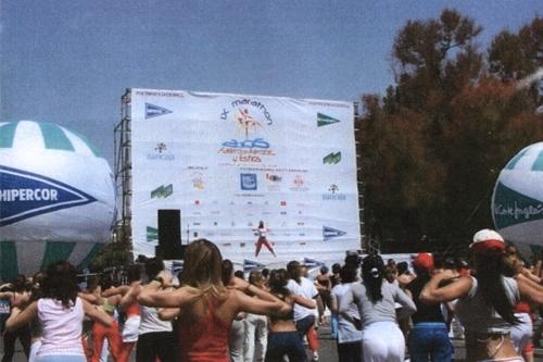 x-marathon-fallero-del-fitness-valencia-alameda-escenario