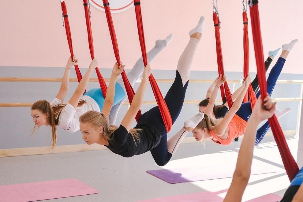 Yoga aéreo para niños
